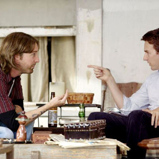 Tim Blake Nelson and Edward Norton (Bill Kincaid/Brady Kincaid) in Telepathic Studios' Leaves of Grass (2010)
