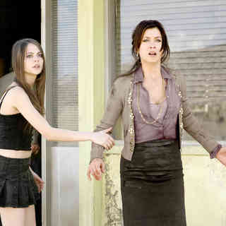 Willa Holland stars as Audrey Anderson and Kate Walsh stars as Sandra Anderson in Screen Gems' Legion (2010)