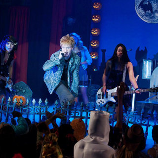 Hayley Kiyoko, Adam Hicks and Naomi Scott in Disney Channel's Lemonade Mouth (2011)