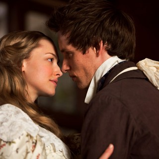 Amanda Seyfried stars as Cosette and Eddie Redmayne stars as Marius in Universal Pictures' Les Miserables (2012)
