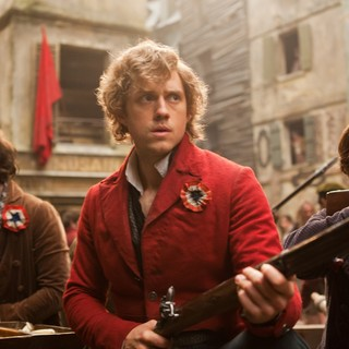 Aaron Tveit stars as Enjolras in Universal Pictures' Les Miserables (2012)