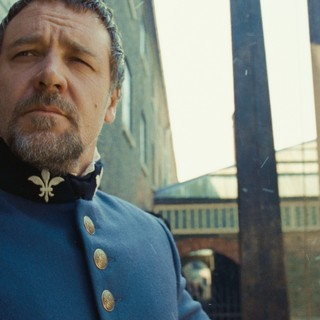 Russell Crowe stars as Javert in Universal Pictures' Les Miserables (2012)