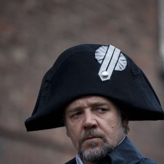 Les Miserables - Russell Crowe stars as Javert in Universal Pictures' Les Miserables (2012)