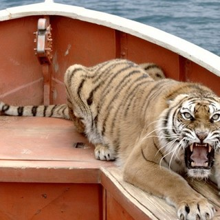 Richard Parker the Tiger from The 20th Century Fox's Life of Pi (2012)