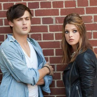 Douglas Booth stars as Kyle and Ashley Greene stars as Ashley in Lionsgate Films' LOL (2012)