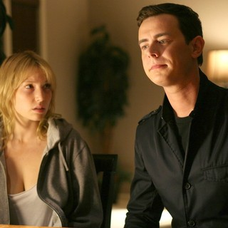 Ari Graynor stars as Lucy and Colin Hanks stars as Ben in Phase 4 Films' Lucky (2011)