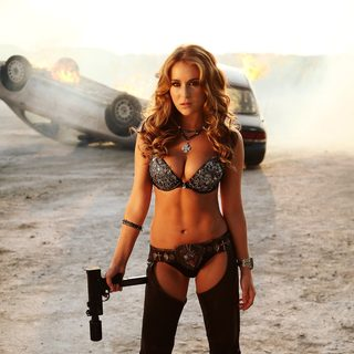 Alexa Vega stars as KillJoy in Open Road Films' Machete Kills (2013)