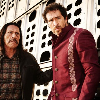 Danny Trejo stars as Machete Cortez and Demian Bichir stars as Mendez the Madman in Open Road Films' Machete Kills (2013)