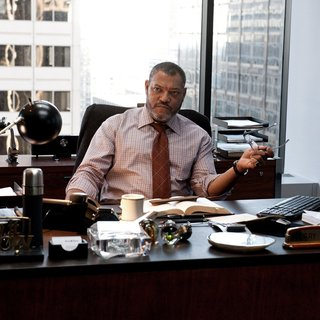 Laurence Fishburne stars as Perry White in Warner Bros. Pictures' Man of Steel (2013) - man-of-steel-picture07