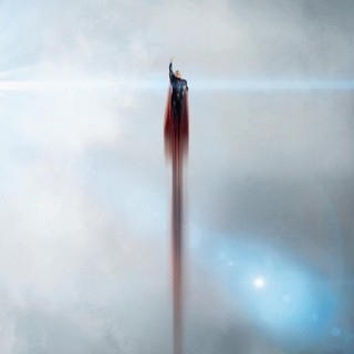 Poster of Warner Bros. Pictures' Man of Steel (2013)