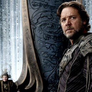 Man of Steel - Russell Crowe stars as Jor-El in Warner Bros. Pictures' Man of Steel (2013)