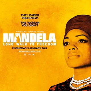 Poster of The Weinstein Company's' Mandela: Long Walk to Freedom (2013) - mandela-poster05