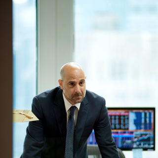 Stanley Tucci stars as Eric Dale in Roadside Attractions' Margin Call (2011)