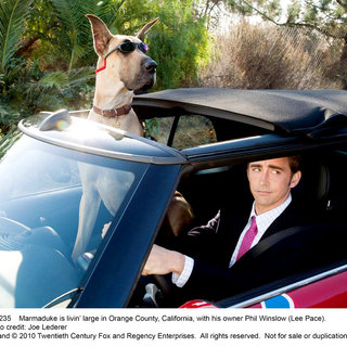 Lee Pace stars as Phil Winslow in 20th Century Fox's Marmaduke (2010)