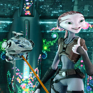 A scene from Walt Disney Pictures' Mars Needs Moms! (2011)