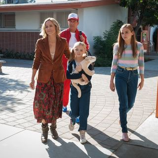 McFarland, USA - Maria Bello, Kevin Costner, Elsie Fisher and Morgan Saylor in Walt Disney Pictures' McFarland, USA (2015)