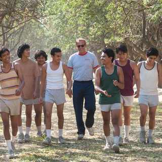 McFarland, USA - Kevin Costner stars as Jim White in Walt Disney Pictures' McFarland, USA (2015)