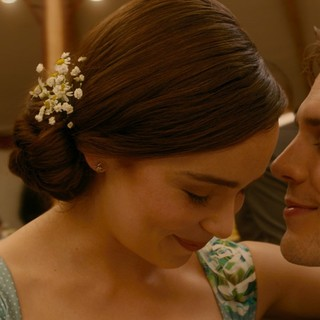 Emilia Clarke stars as Lou Clark and Sam Claflin stars as Will Traynor in Warner Bros. Pictures' Me Before You (2016)