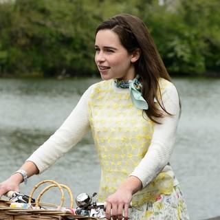 Emilia Clarke stars as Lou Clark in Warner Bros. Pictures' Me Before You (2016)