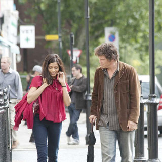 Freida Pinto stars as Dia and Josh Brolin stars as Roy in Sony Pictures Classics' You Will Meet a Tall Dark Stranger (2010)