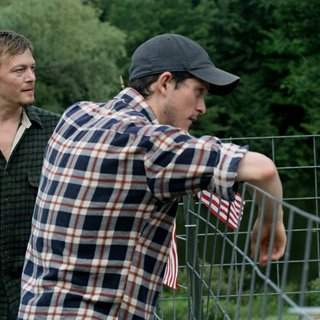 Norman Reedus stars as Dennis Burrows and Jonathan Tucker stars as Shane Loakin in Red Flag Releasing's Meskada (2010)