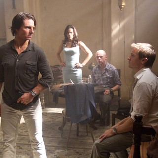 Tom Cruise, Paula Patton, Simon Pegg and Jeremy Renner in Paramount Pictures' Mission: Impossible Ghost Protocol (2011)