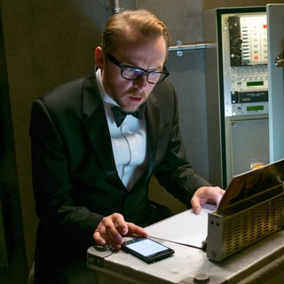 Mission: Impossible Rogue Nation - Simon Pegg stars as Benji Dunn in Paramount Pictures' Mission: Impossible Rogue Nation (2015)