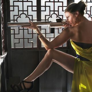 Mission: Impossible Rogue Nation - Rebecca Ferguson stars as Ilsa in Paramount Pictures' Mission: Impossible Rogue Nation (2015)