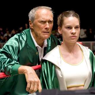 Clint Eastwood and Hilary Swank in Warner Bros.' Million Dollar Baby (2004) - million_dollar_baby28