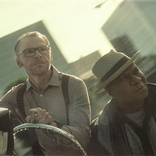 Simon Pegg stars as Benji Dunn and Ving Rhames stars as Luther Stickell in Paramount Pictures' Mission: Impossible - Fallout (2018)