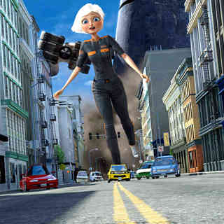 Monsters vs. Aliens - A scene from Paramount Pictures' Monsters vs. Aliens (2009)