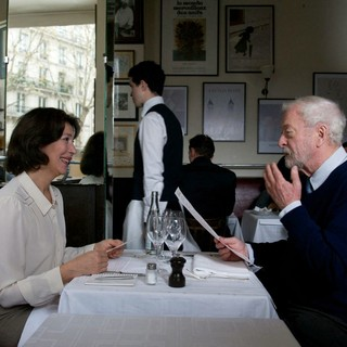 Anne Alvaro stars as Colette Lery and Michael Caine stars as Matthew Morgan in Image Entertainment's Last Love (2013)