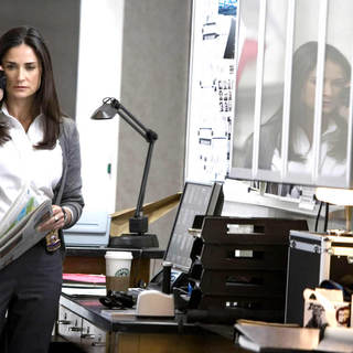 Demi Moore as Detective Tracy Atwood in MGM's Mr. Brooks (2007)