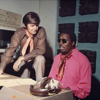 Rick Hall and Clarence Carter in Magnolia Pictures' Muscle Shoals (2013)