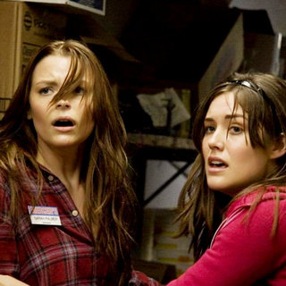 My Bloody Valentine 3-D - Jaime King stars as Sarah Palmer and Megan Boone stars as Megan in Lionsgate Films' My Bloody Valentine 3-D (2009)