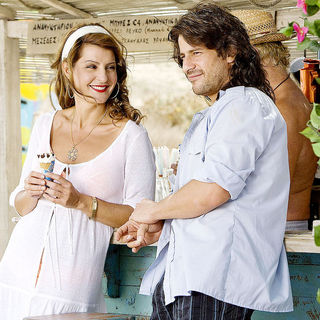 Nia Vardalos stars as Georgia and Alexis Georgoulis stars as Poupi in Fox Searchlight Pictures' My Life in Ruins (2009)