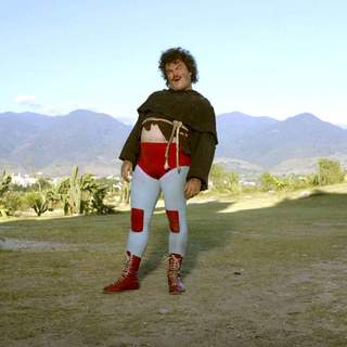 Jack Black as Nacho in Paramount Pictures' Nacho Libre (2006)