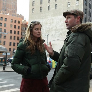 Caitlin Fitzgerald stars as Katie and Edward Burns stars as Buzzy in Tribeca Film's Newlyweds (2012). Photo credit by William Rexer. - newlyweds03