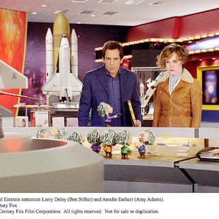 Night at the Museum 2: Battle of the Smithsonian - Ben Stiller stars as Larry Daley and Amy Adams stars as Amelia Earhart in 20th Century Fox's Night at the Museum 2: Battle of the Smithsonian (2009)