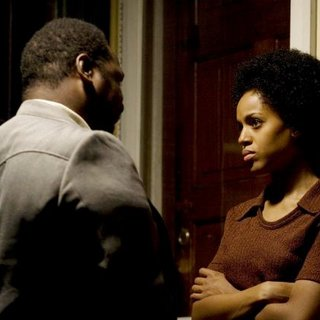 Anthony Mackie stars as Marcus Washington and Kerry Washington stars as Patricia Wilson in Magnolia Pictures' Night Catches Us (2010)