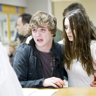 Kyle Gallner stars as Quentin Smith and Rooney Mara stars as Nancy Holbrook in Warner Bros. Pictures' A Nightmare on Elm Street (2010)