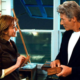 Diane Lane stars as Adrienne Willis and Richard Gere stars as Dr. Paul Flanner in Warner Bros. Pictures' Nights in Rodanthe (2008)