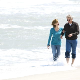 Diane Lane stars as Adrienne Willis and Richard Gere stars as Dr. Paul Flanner in Warner Bros. Pictures' Nights in Rodanthe (2008). Photo credit by Michael Tackett.