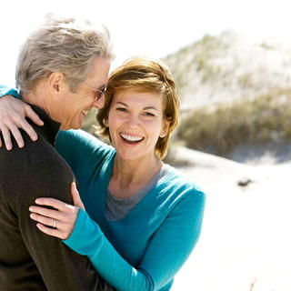 Richard Gere stars as Dr. Paul Flanner and Diane Lane stars as Adrienne Willis in Warner Bros. Pictures' Nights in Rodanthe (2008). Photo credit by Michael Tackett.