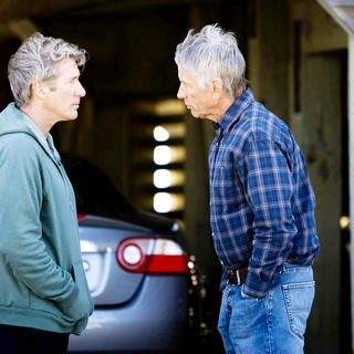 Richard Gere stars as Dr. Paul Flanner and Scott Glenn stars as Robert Torrelson in Warner Bros. Pictures' Nights in Rodanthe (2008). Photo credit by Michael Tackett. - nights_in_rodanthe16