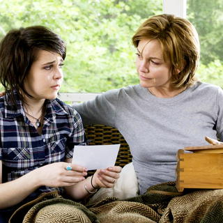 Mae Whitman stars as Amanda Willis and Diane Lane stars as Adrienne Willis in Warner Bros. Pictures' Nights in Rodanthe (2008). Photo credit by Michael Tackett.