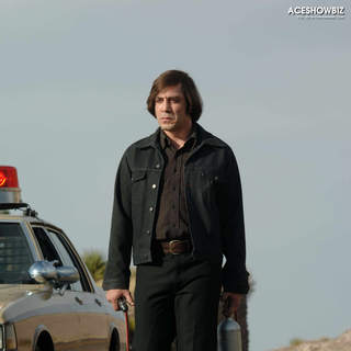 Javier Bardem as Anton Chigurh in Paramount Classics' No Country for Old Men (2007)