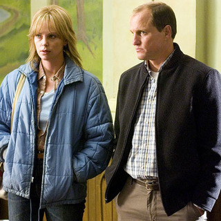 Charlize Theron and Woody Harrelson in North Country (2005)