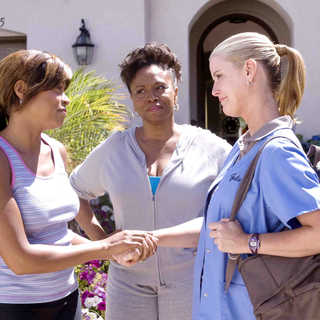 Taraji P. Henson, Jenifer Lewis and Maeve Quinlan in Screen Gems' Not Easily Broken (2009). Photo credit by Ron Phillips. - not_easily_broken09