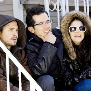 Freddy Rodriguez, John Leguizamo and Vanessa Ferlito in Overture Films' Nothing Like the Holidays (2008). Photo credit by Chuck Hodes. - nothing_like_the_holidays02